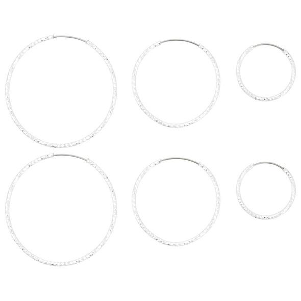 Ohr-Set - Diamond Cut
