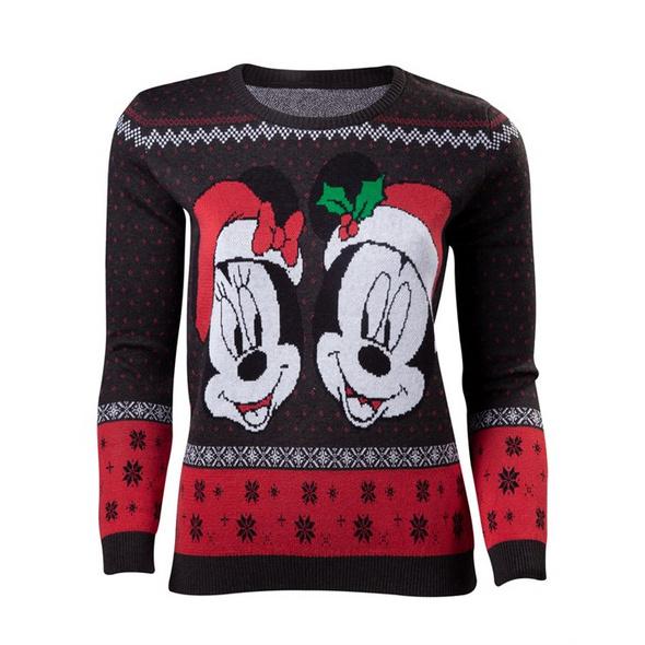 Mickey Mouse - Pullover Xmas (Größe S)