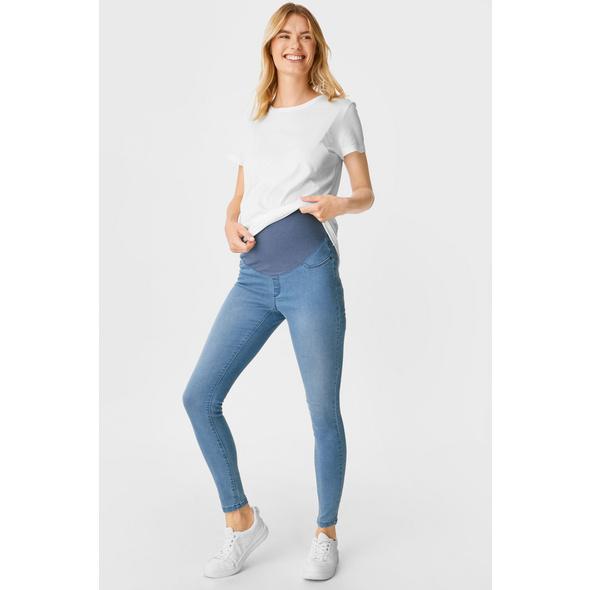 Umstandsjeans - Jegging Jeans - Bio-Baumwolle