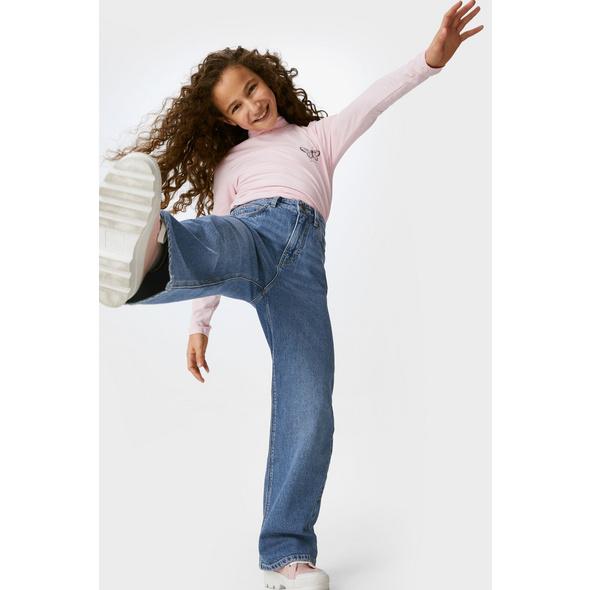 Wide Leg Jeans - Bio-Baumwolle