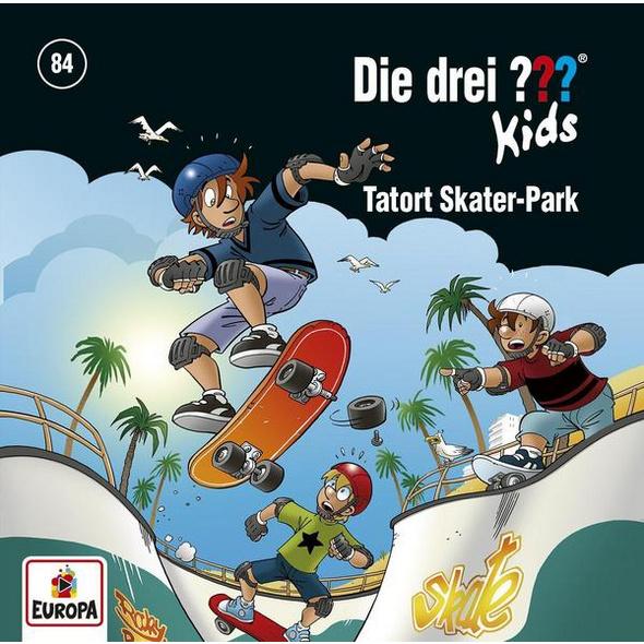 Die drei ??? Kids 84. Tatort Skater-Park