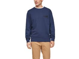 Weicher Sweater mit Print - Sweatshirt