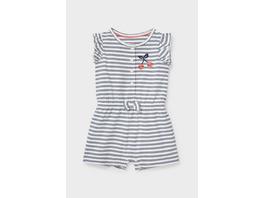 Baby-Jumpsuit - Bio-Baumwolle - gestreift
