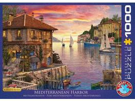 Eurographics 6000-0962 - Mittelmeerhafen von Dominic Davison, Puzzle