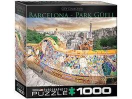 Barcelona Park Güell (Puzzle)
